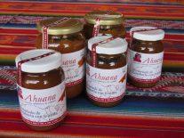 Photo de confitures du label Ahuana.