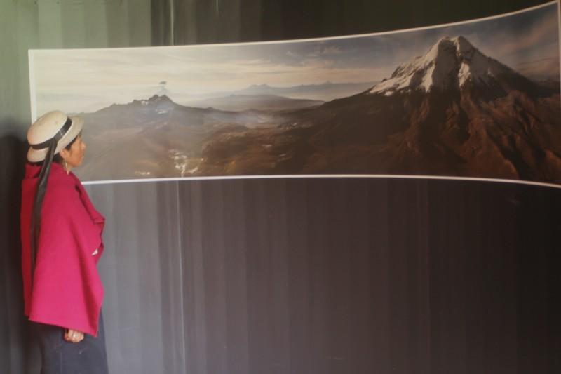 Photo prise dans le musée de la montagne.