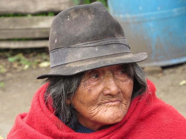Une femme Quichua.