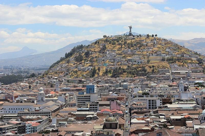 Ville de Quito.