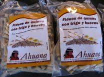 Pâtes de Quinoa du label Ahuana.