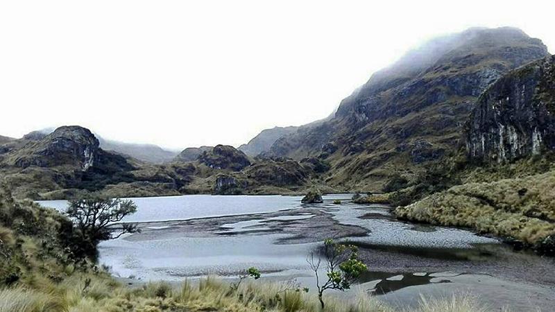 Le parc national de las Cajas est magnifique.