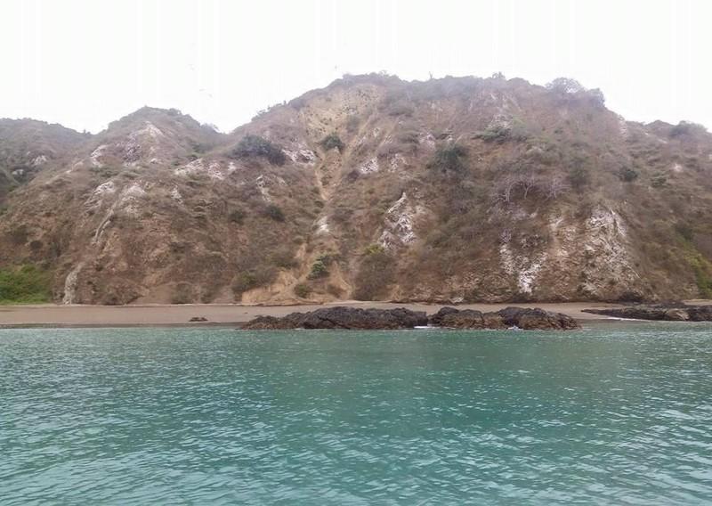 """L'arrivée à l'Isla de Plata : """"La Galapagos des pauvres"""""""