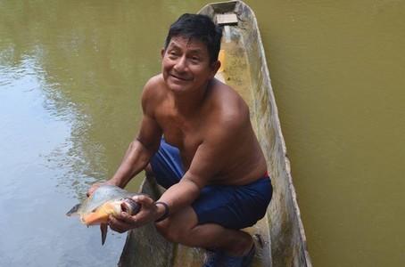 Photo d'une prise de pêche